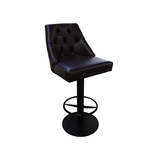 elegant concept pair steel res swivel small bar design home metal leather of upholstered and tufted leg for with chrome on based stool black adjustable stools pedestal height