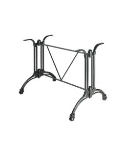 Gourmet Bakers Rack Wood 2 Shelves Gmc moreover Alessi Blow Up 2521 By Fratelli C ana Oversized 25 6 Wall Clock FC 16 AAS2347 additionally Cafe Floor Plan likewise Soft Top Folding Tables likewise Metal Moment Outdoor Furniture Accents 2. on small bistro table and chairs